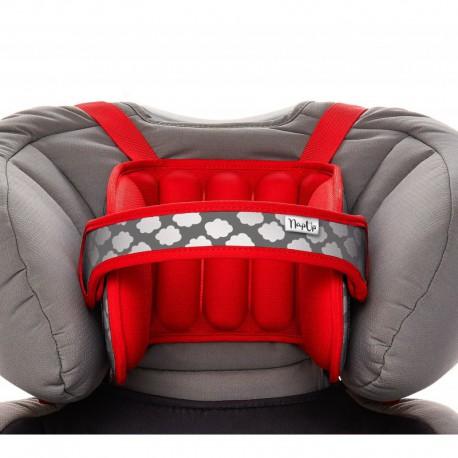 Tetiera NapUp pentru somn confortabil in masina, rosu
