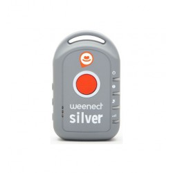 GPS traker Weenect Silver pentru adulti/batrani