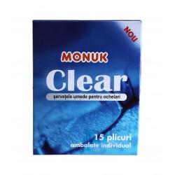 Servetele umede pentru ochelari Monuk 15 buc