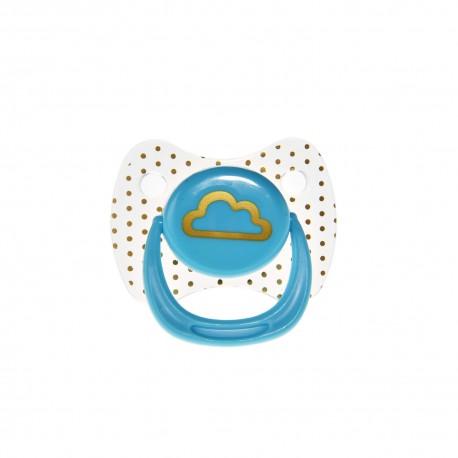 Suzeta silicon rotunda Minut Baby, 0-6 +