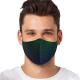 """Mască textilă reutilizabilă cu buzunar """"Elegant Swirls"""" - Bărbați, Multicolor"""