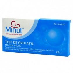 Test de ovulatie Minut intim tip banda (3 buc)